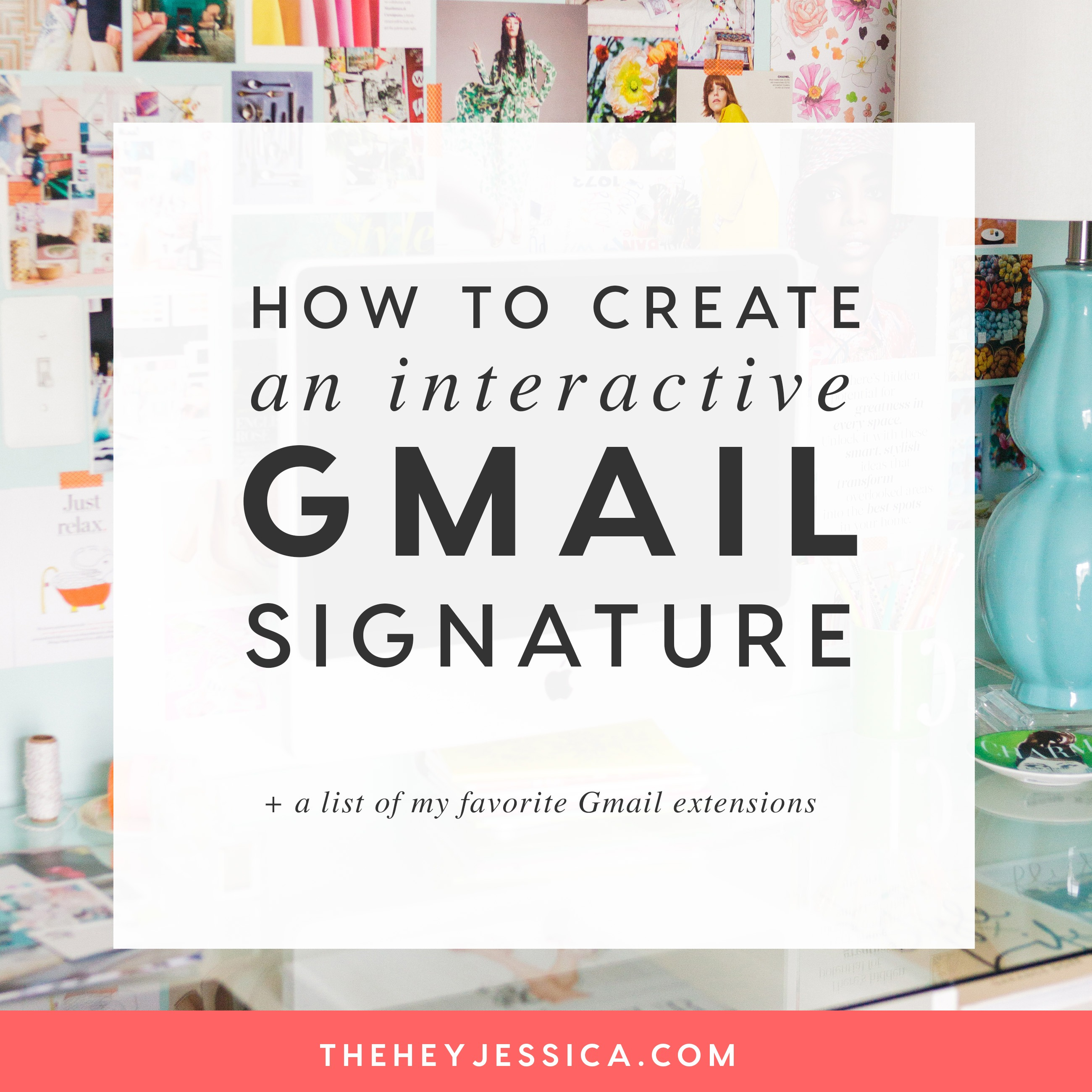 interactive gmail signature