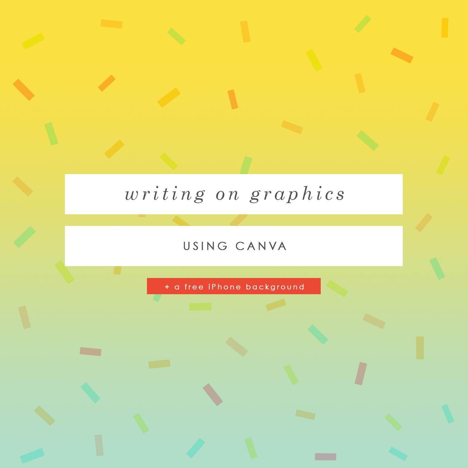 how to write on graphics using Canva