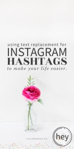 Using Text Replacement for Instagram Hashtags   iPhone
