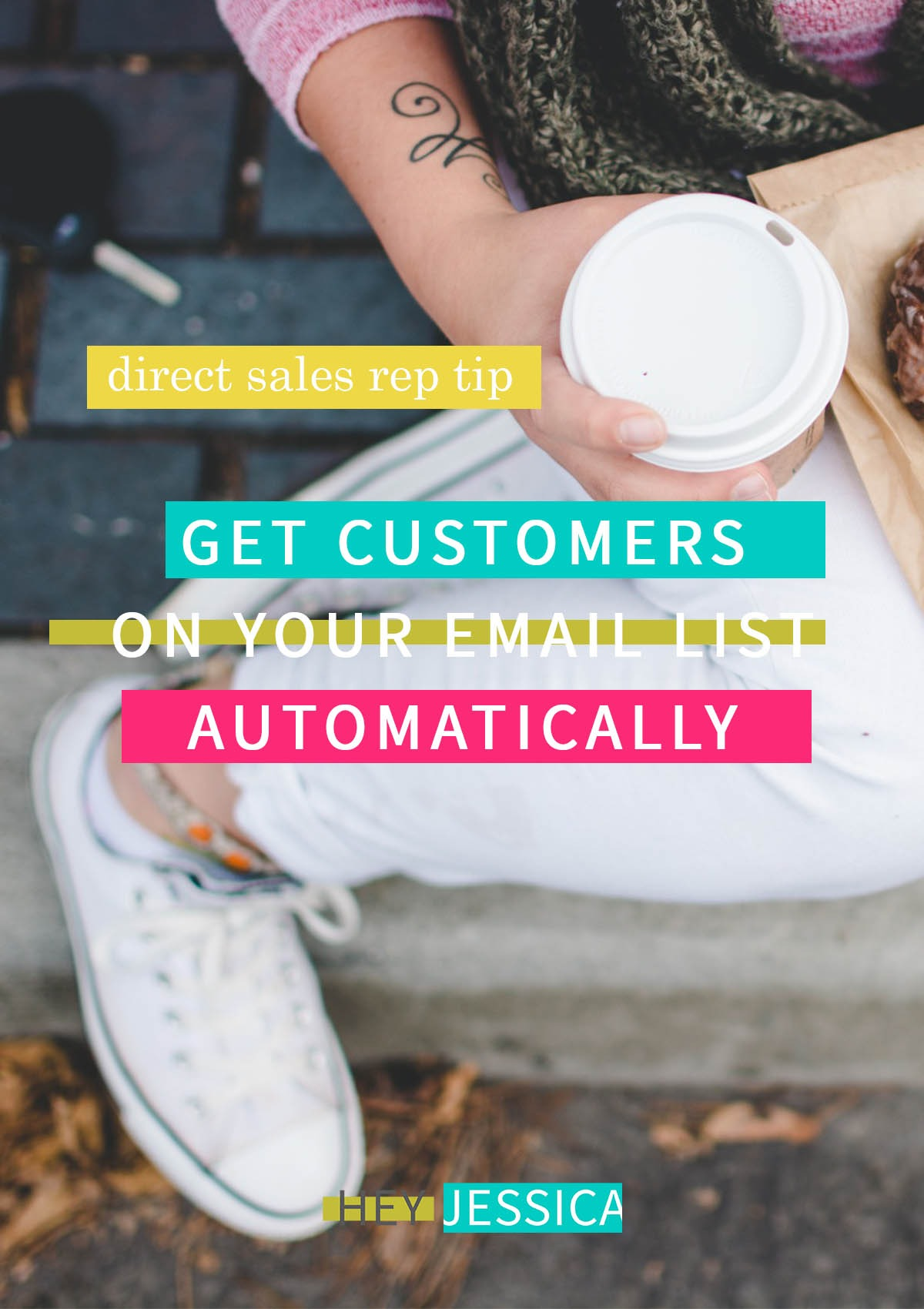 direct sales customers on your email list
