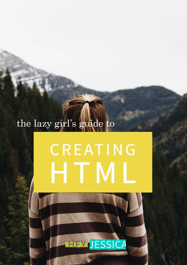 easy way to create HTML