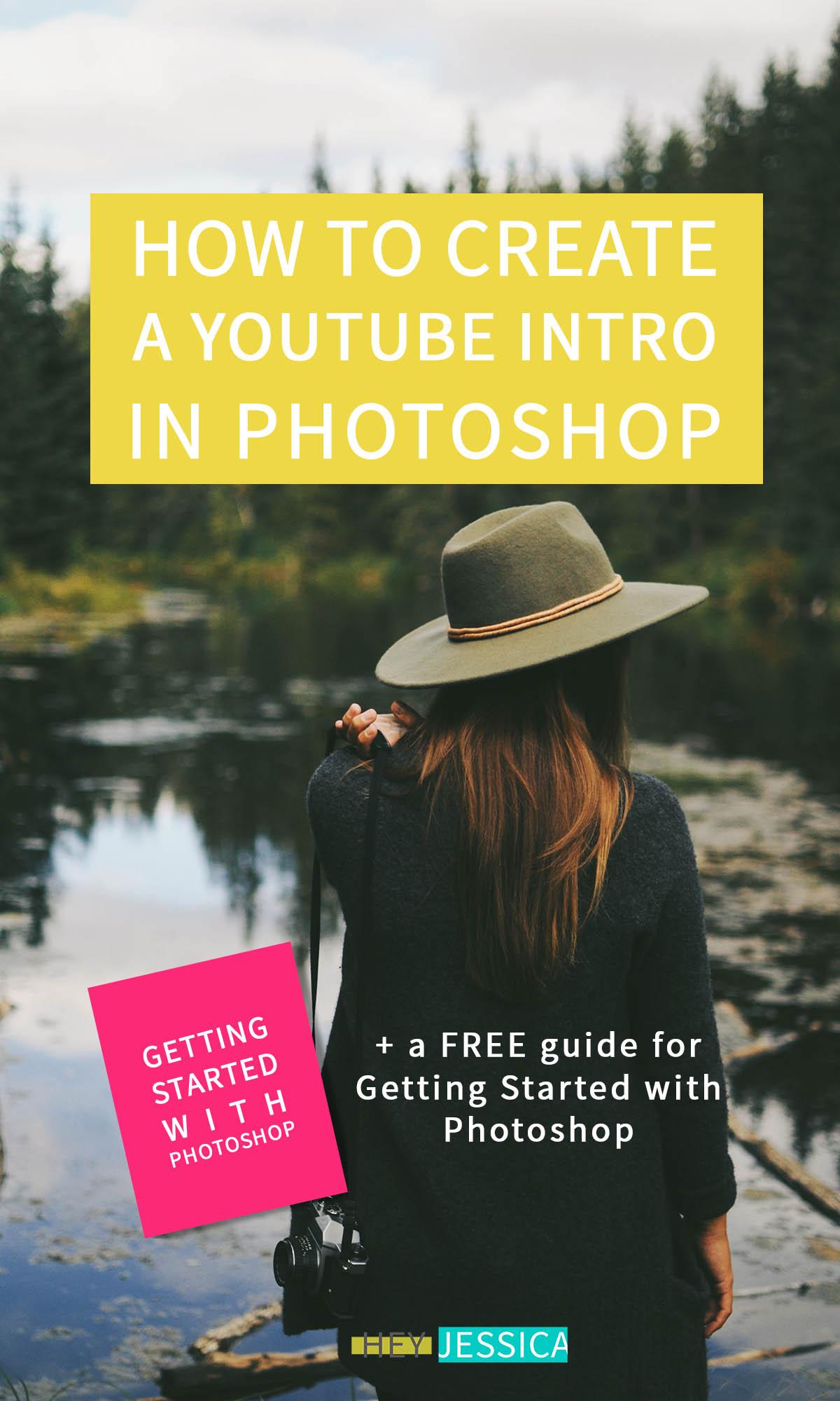 create youtube intro in photoshop