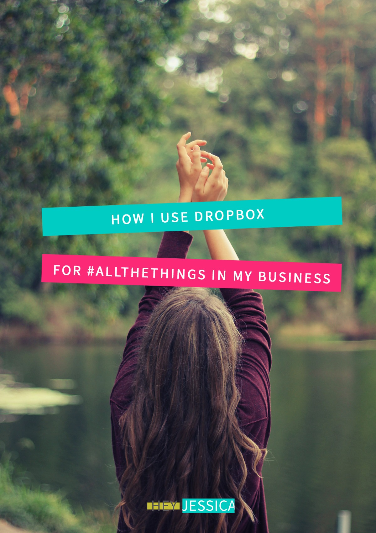 how I use Dropbox in my business