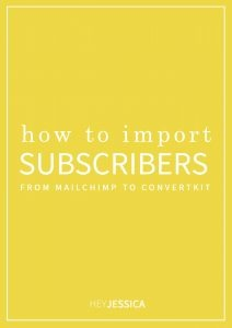 How to Import Subscribers from MailChimp to ConvertKit