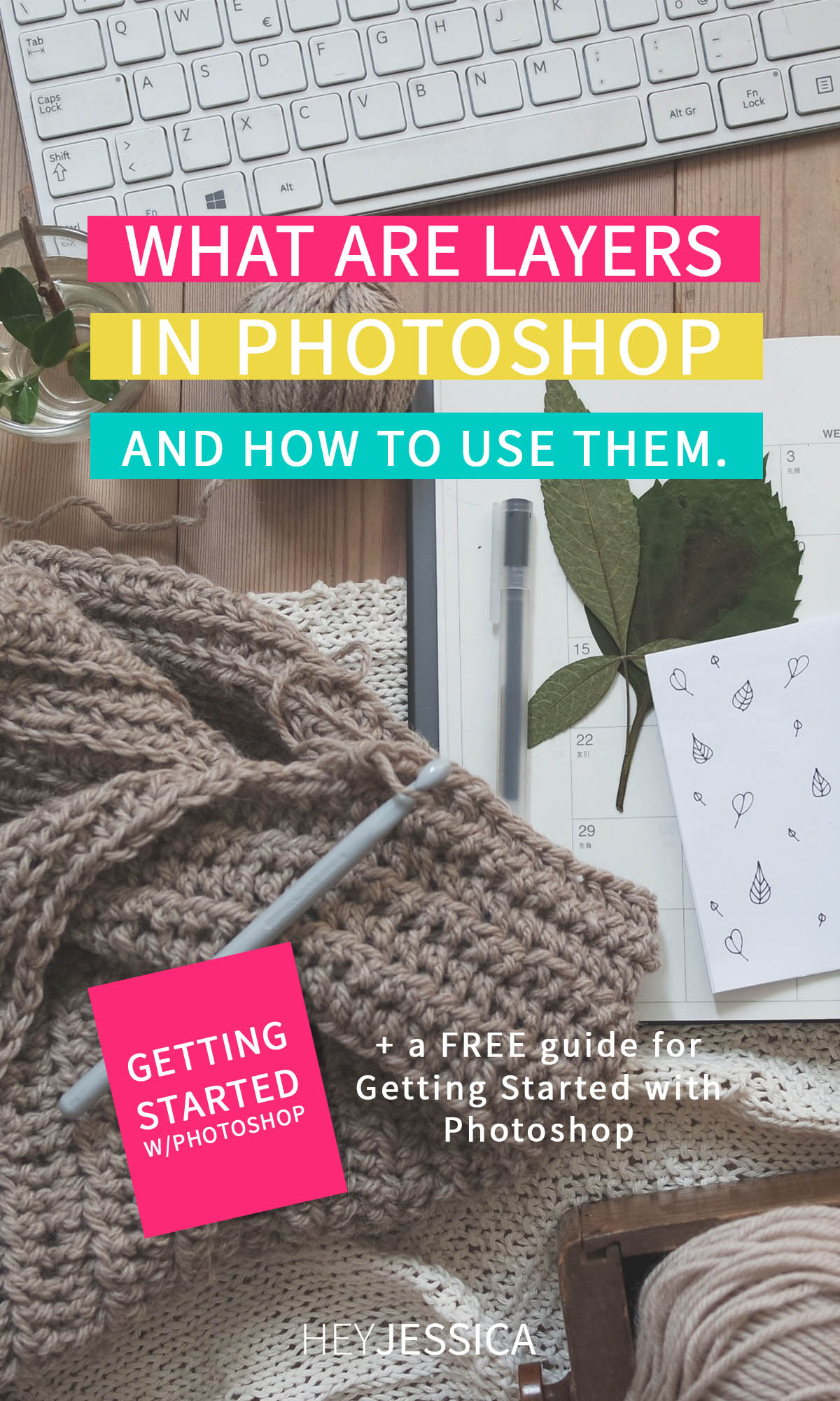 how to use layers in Photoshop