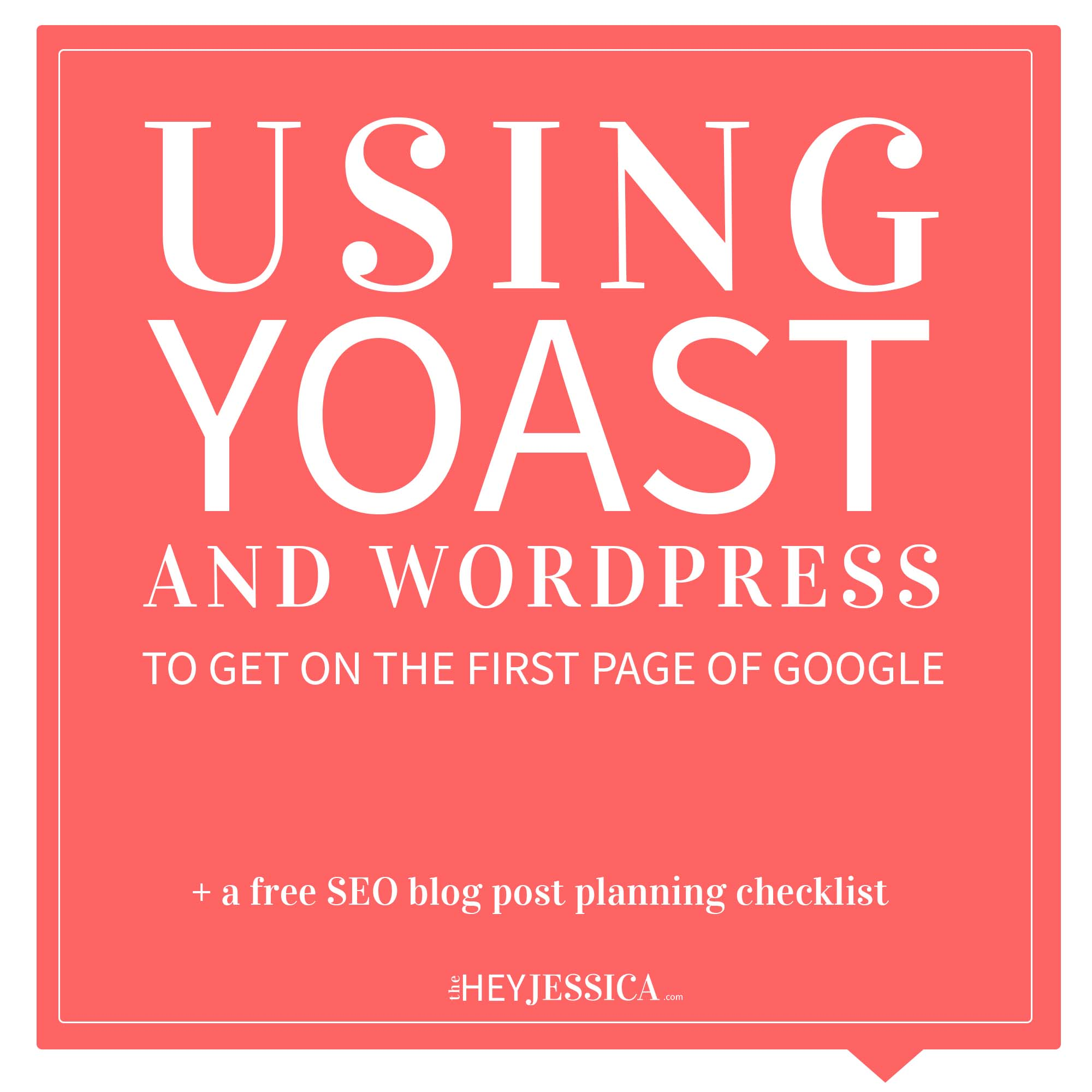 Using Yoast to Boost SEO