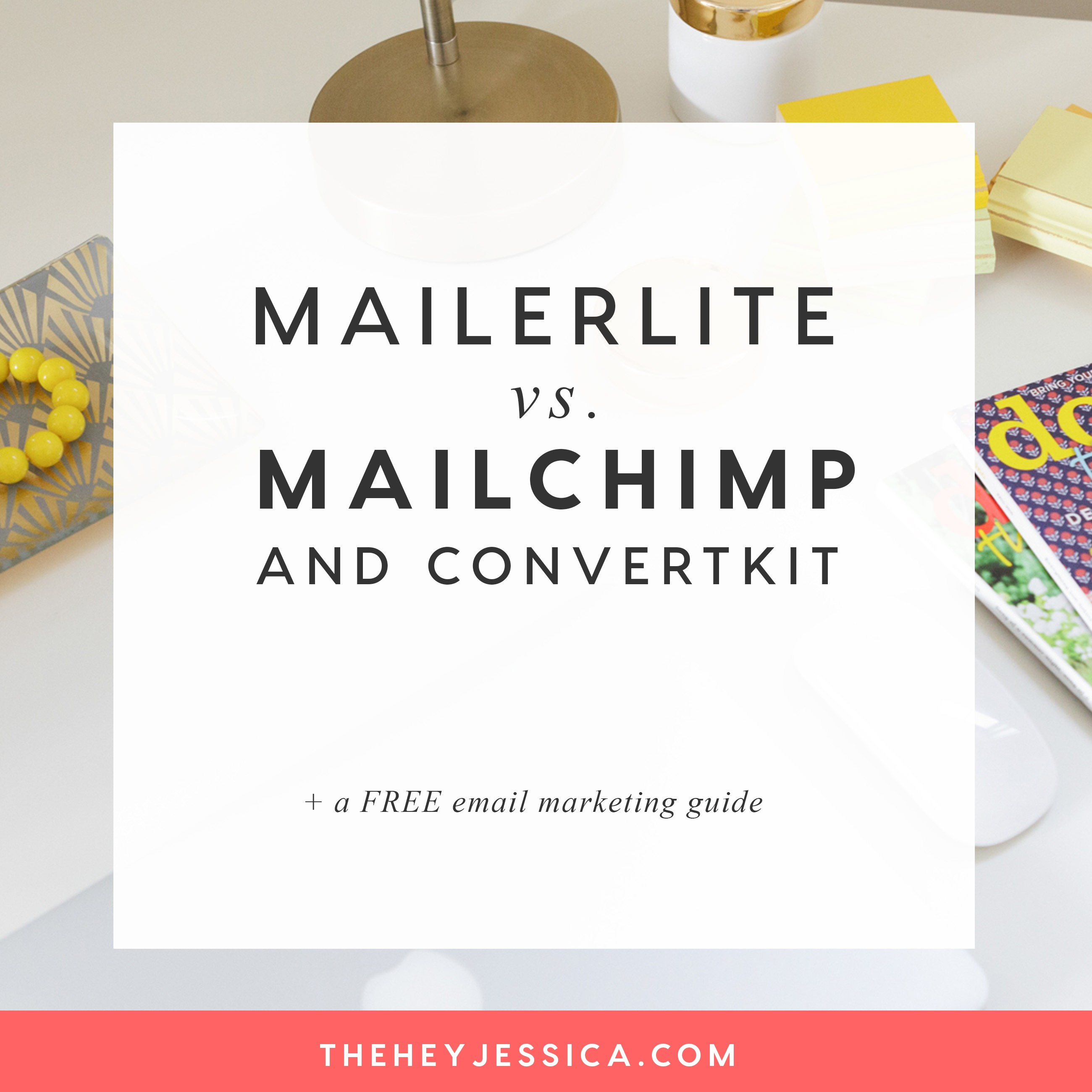 MailerLite vs MailChimp and ConvertKit