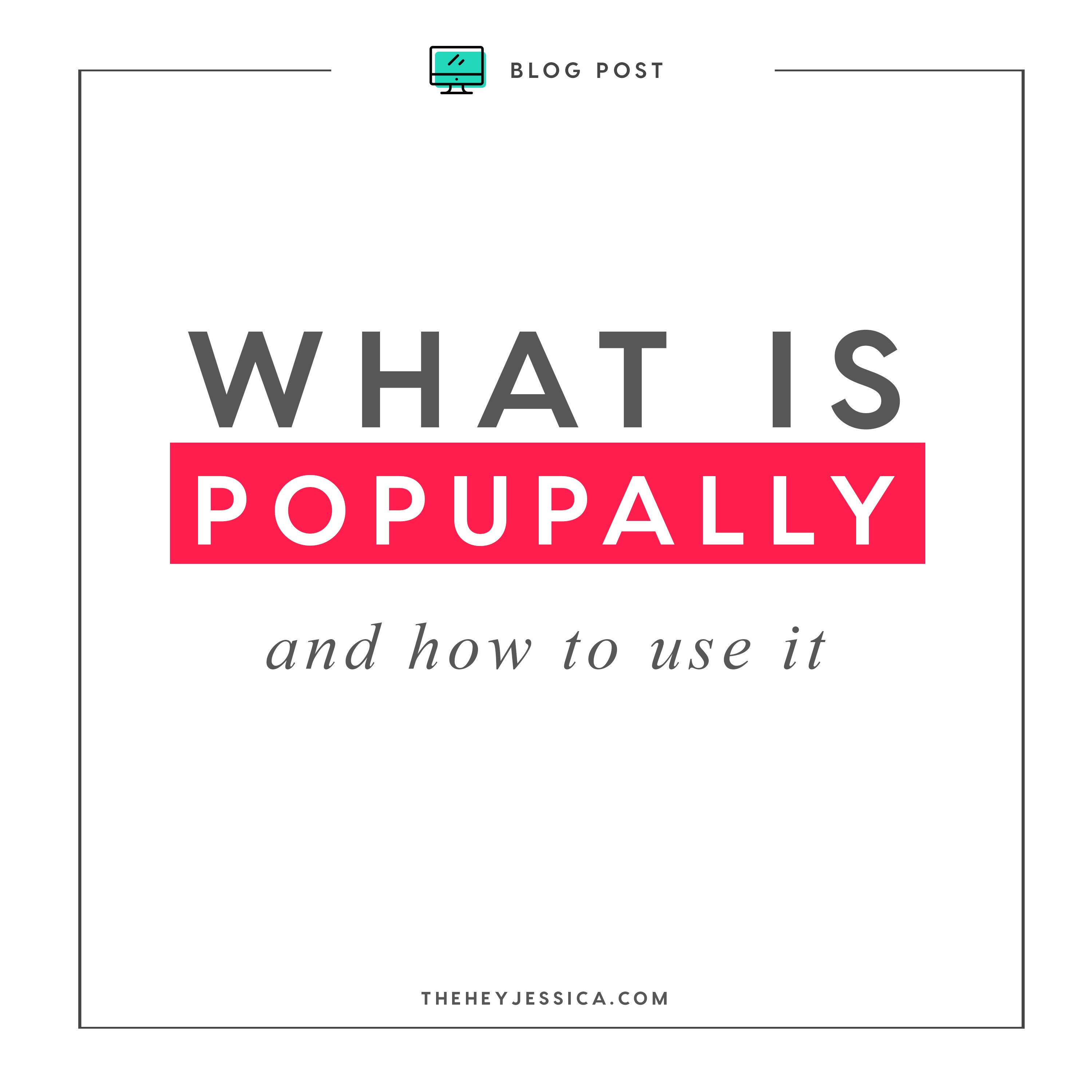 What is PopUpAlly and how do you use it?
