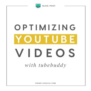 Optimize your YouTube Videos with TubeBuddy