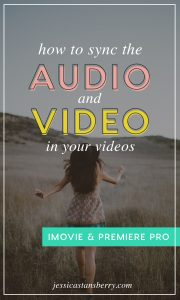 How to Sync Audio