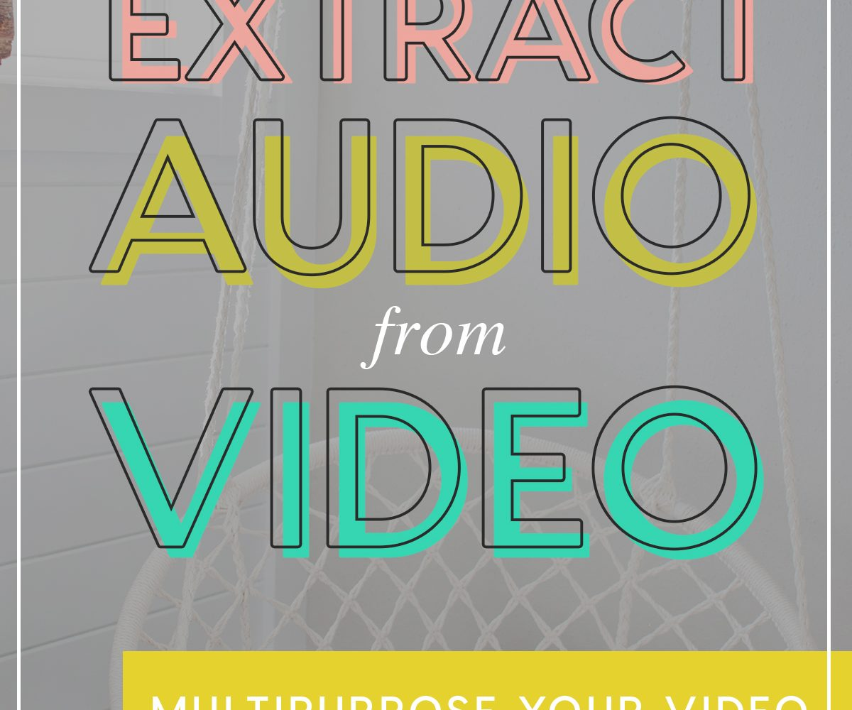 Extract Audio from Video
