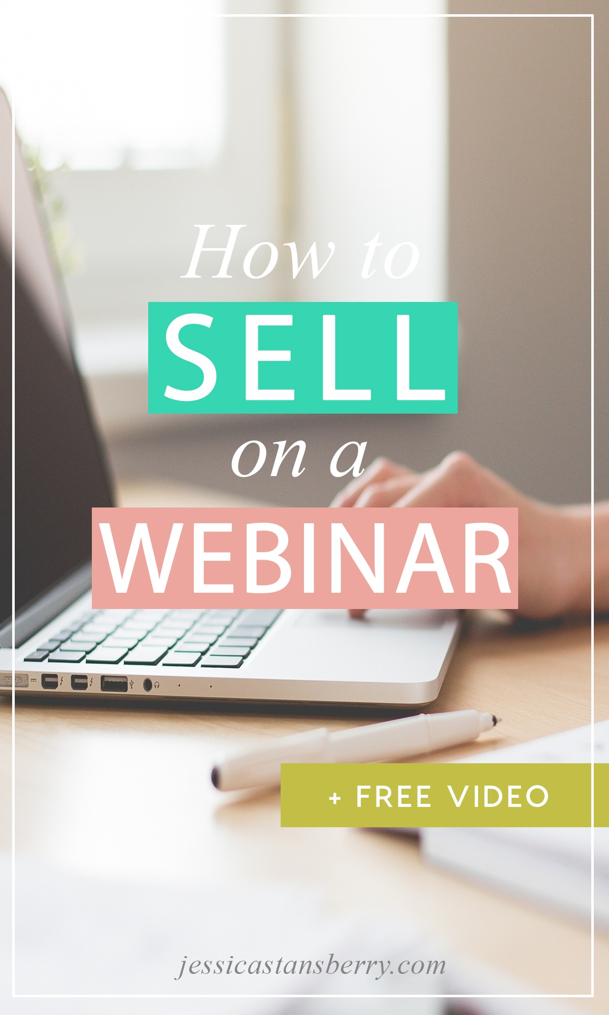 How to Sell on a Webinar