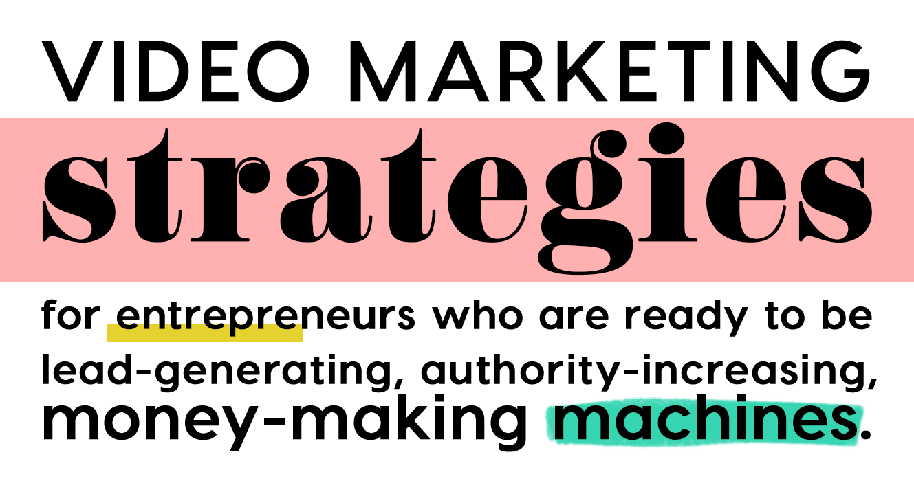 video marketing strategist
