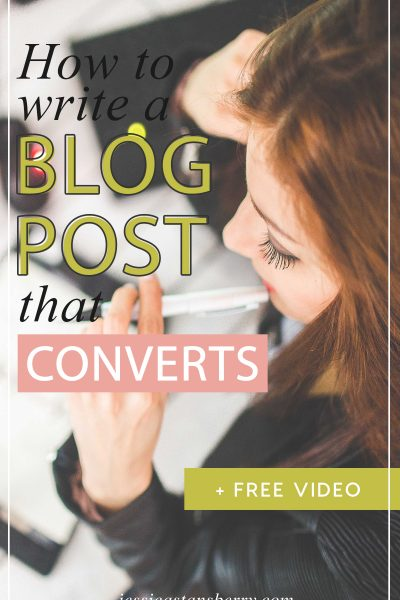 How to Write a Blog Post That Converts