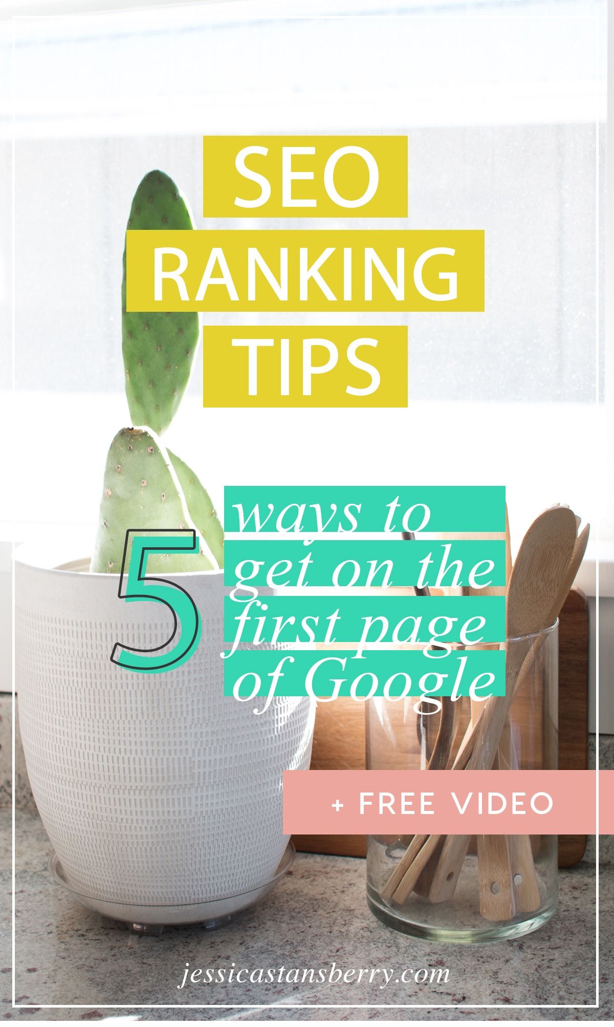 SEO ranking tips   5 ways to get on the first page of Google