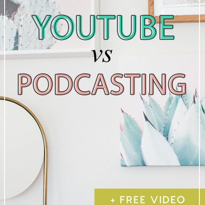 YouTube vs Podcasting