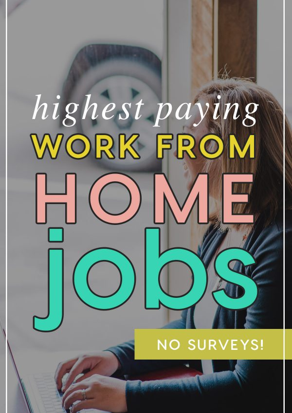 work at home jobs