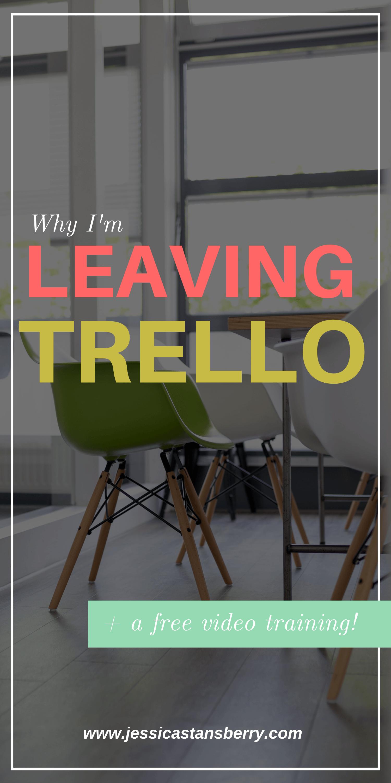 Why I'm Leaving Trello